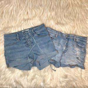 Pacsun Stretch Shorts Bundle